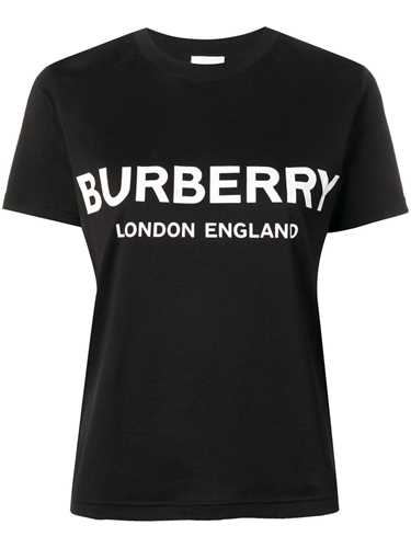 Picture of Burberry | Logo Print Cotton T-Shirt