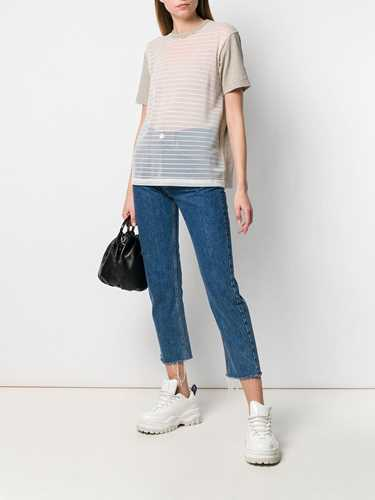Picture of Junya Watanabe | Striped Panel T-Shirt