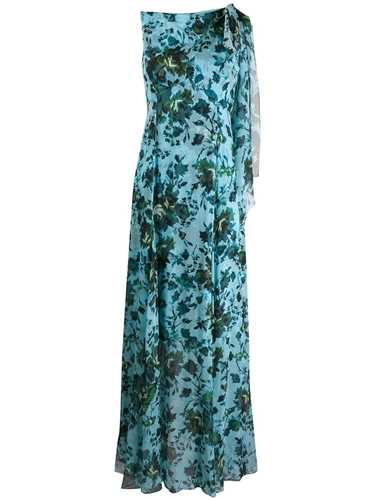 Picture of Erdem | Floral Sleeveless Long Dress