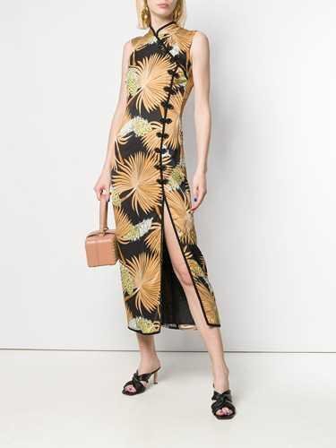 Picture of De La Vali | Jean Oriental Long Dress