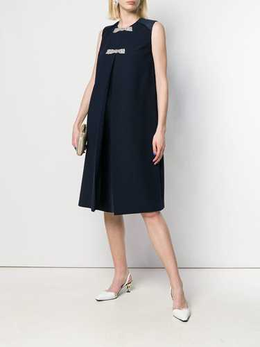 Picture of Dice Kayek | Bow-Detail Shift Dress