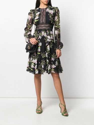 Picture of Giambattista Valli | Panelled Lace Floral Dress