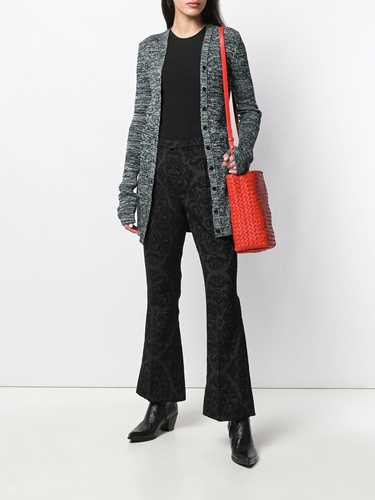 Picture of Saint Laurent | Jacquard Flared Trousers