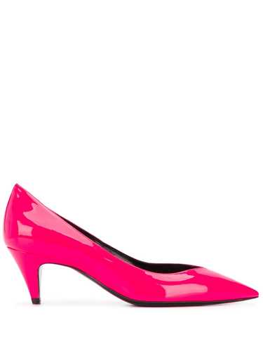 Picture of Saint Laurent | Kiki Low Heel Pumps