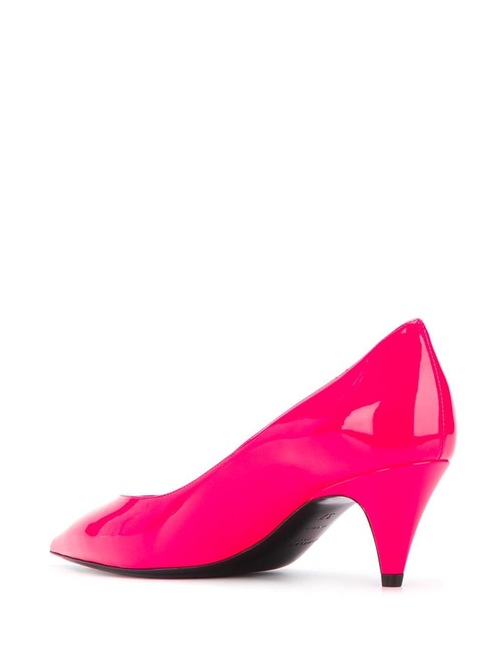Picture of Saint Laurent | Kiki Low Heel Pumps
