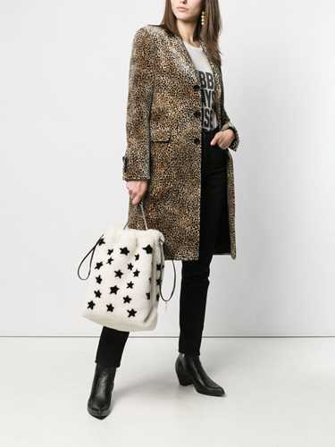Picture of Saint Laurent | Chesterfield Leopard Print Coat