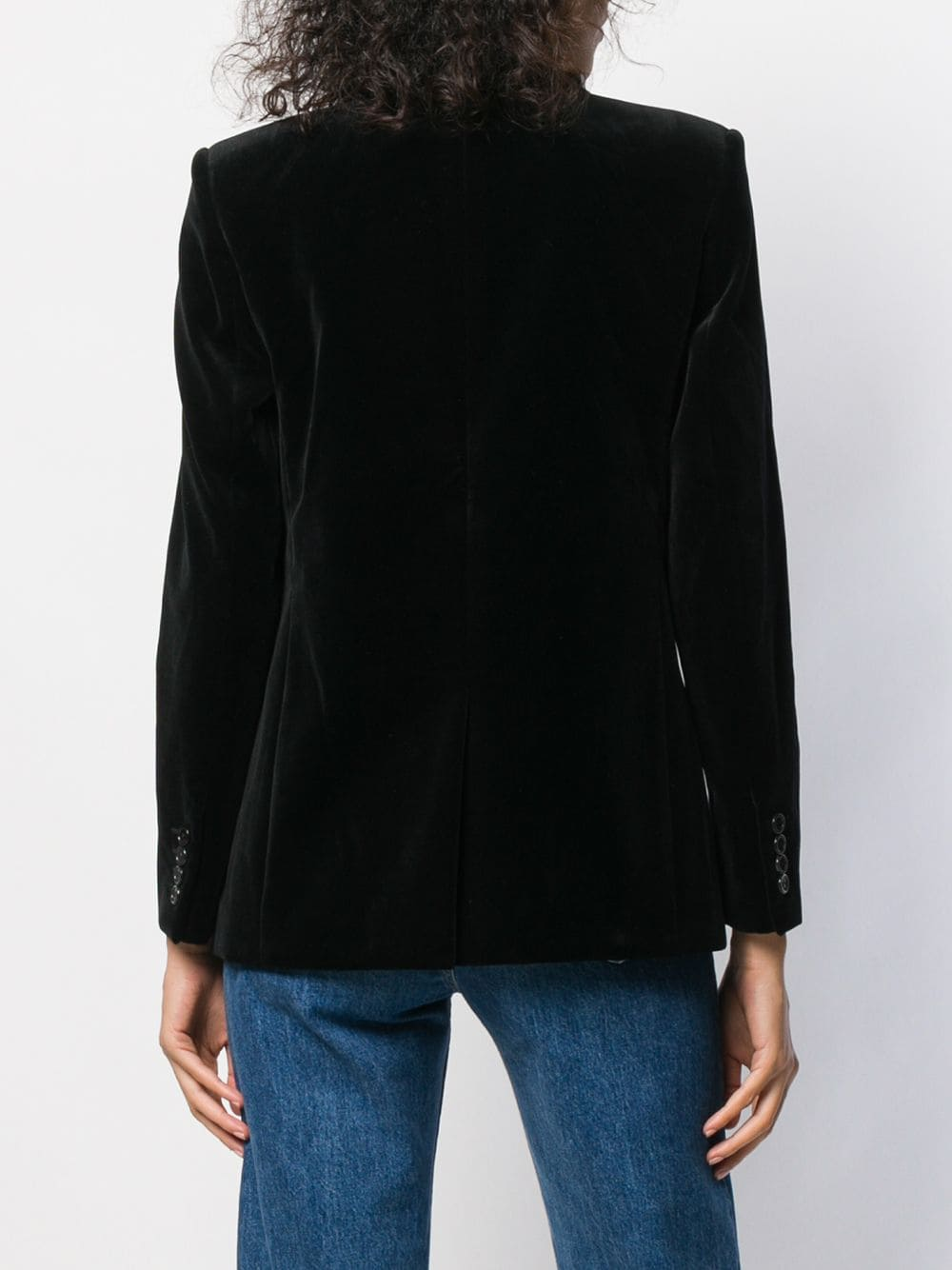 Picture of Saint Laurent | Double Breasted Blazer