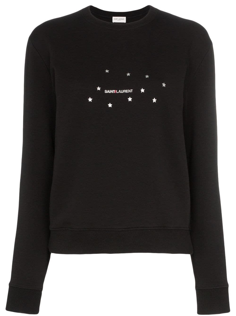 Picture of Saint Laurent | Star Logo Print Sweatshirt