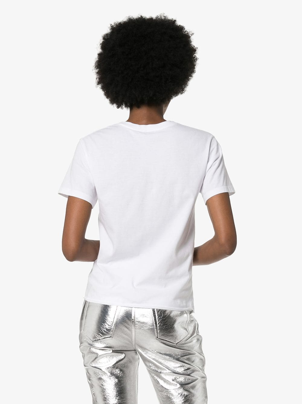 Picture of Saint Laurent | Logo Print T-Shirt