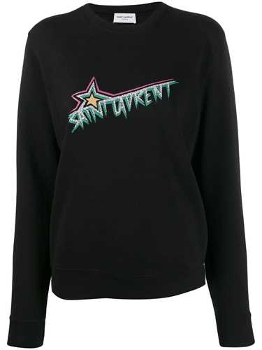 Picture of Saint Laurent | Logo Print Sweatshirt