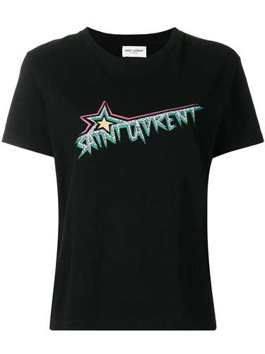 Picture of Saint Laurent | Star Logo Printed T-Shirt