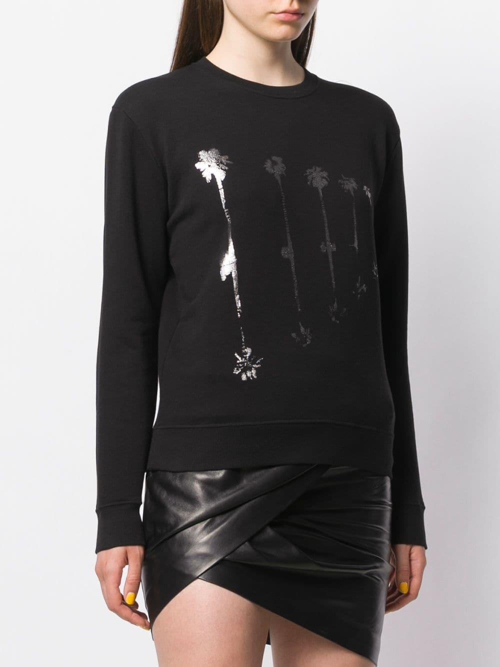 Picture of Saint Laurent   Palm Tree Print Sweatshirt