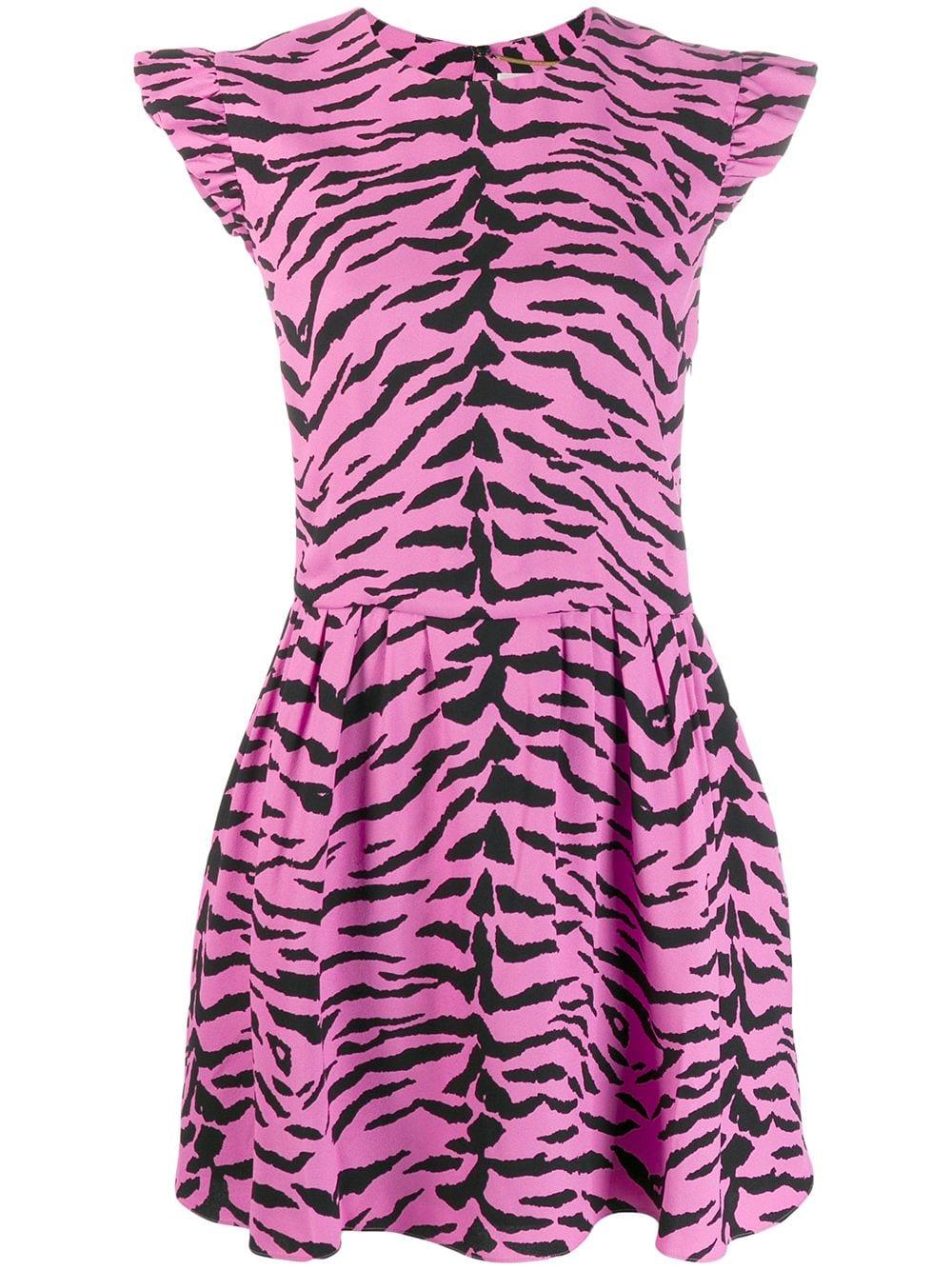 Picture of Saint Laurent   Zebra Print Dress