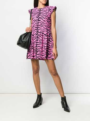 Picture of Saint Laurent | Zebra Print Dress