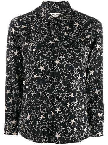 Picture of Saint Laurent | Star Print Shirt