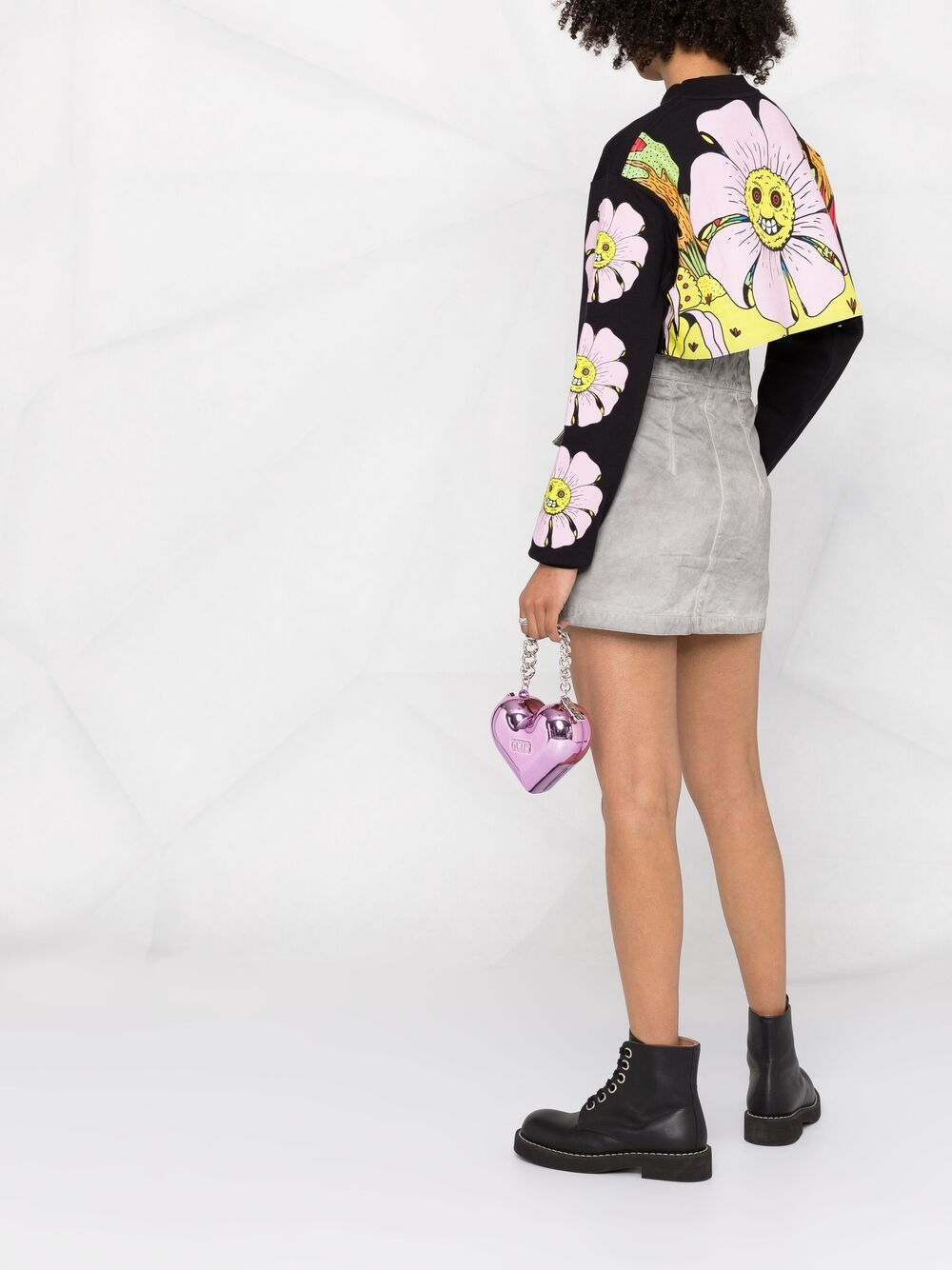 Picture of Gcds | Flower Crop Sweatshirt