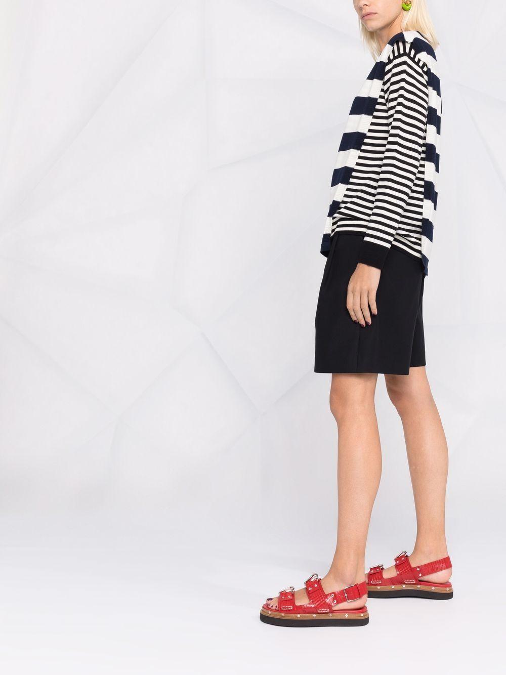Picture of Maison Kitsune`   Double Striped Sweater