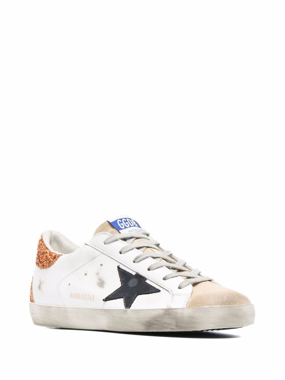 Picture of Golden Goose Deluxe Brand | Superstar Low-Top Lace-Up Sneakers