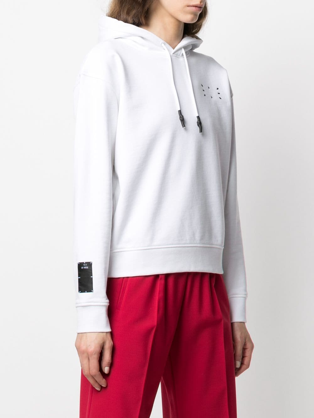 Picture of Mcq | Icon No.0 Cotton Hoodie
