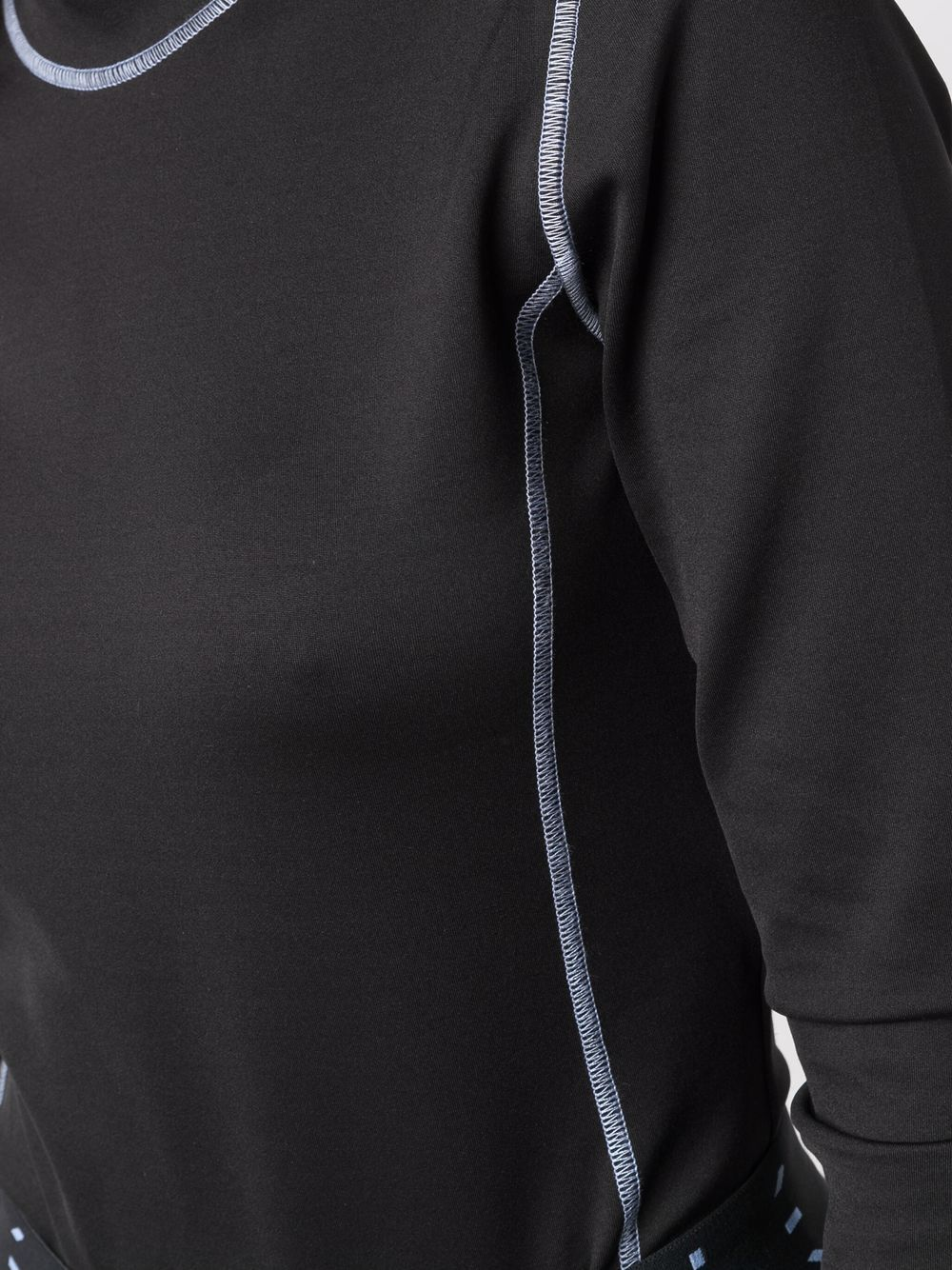 Picture of Mcq   Contrasting-Stitch Top