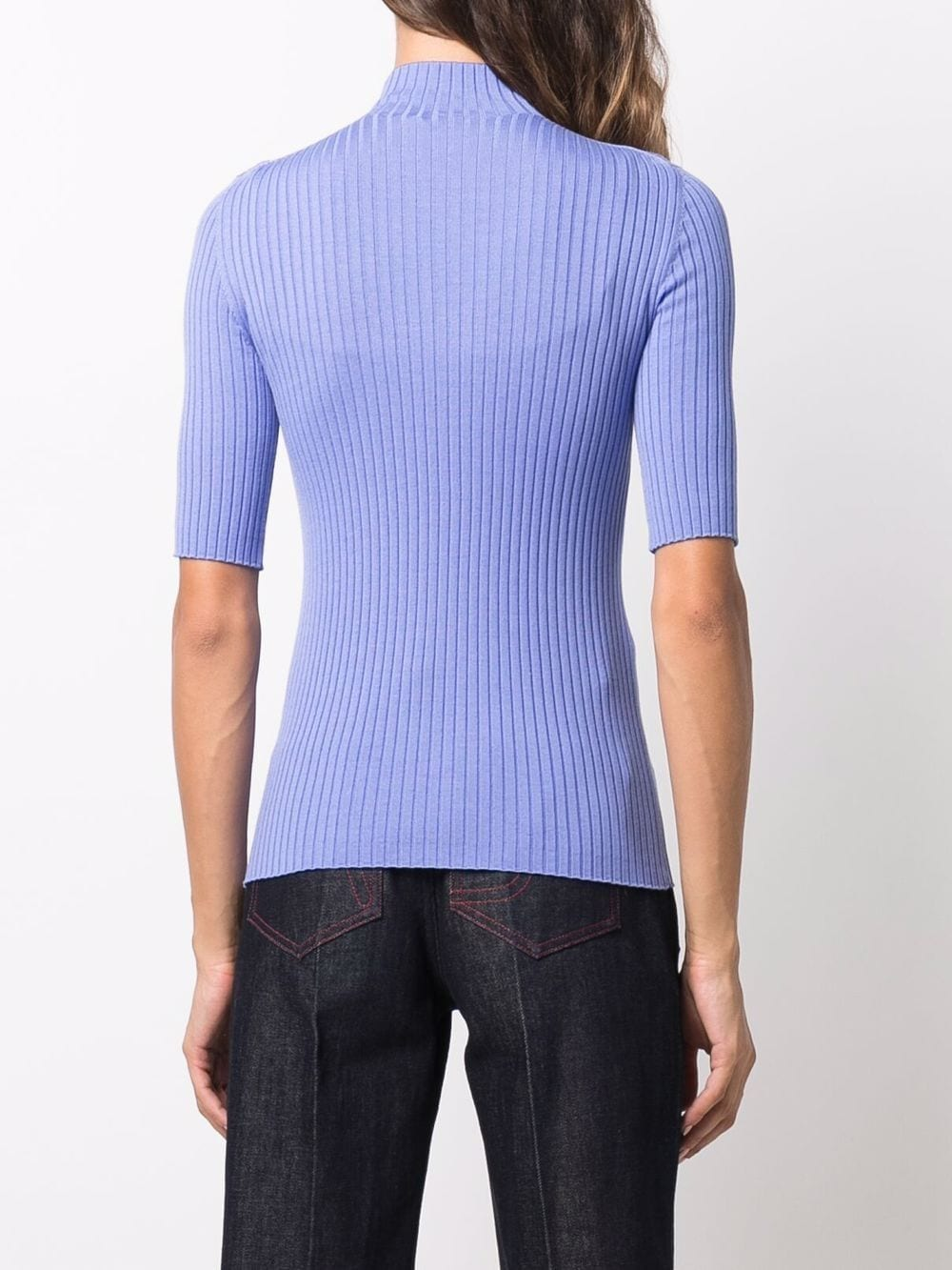 Picture of Mrz | Craterino Costa Ribbed-Knit Top