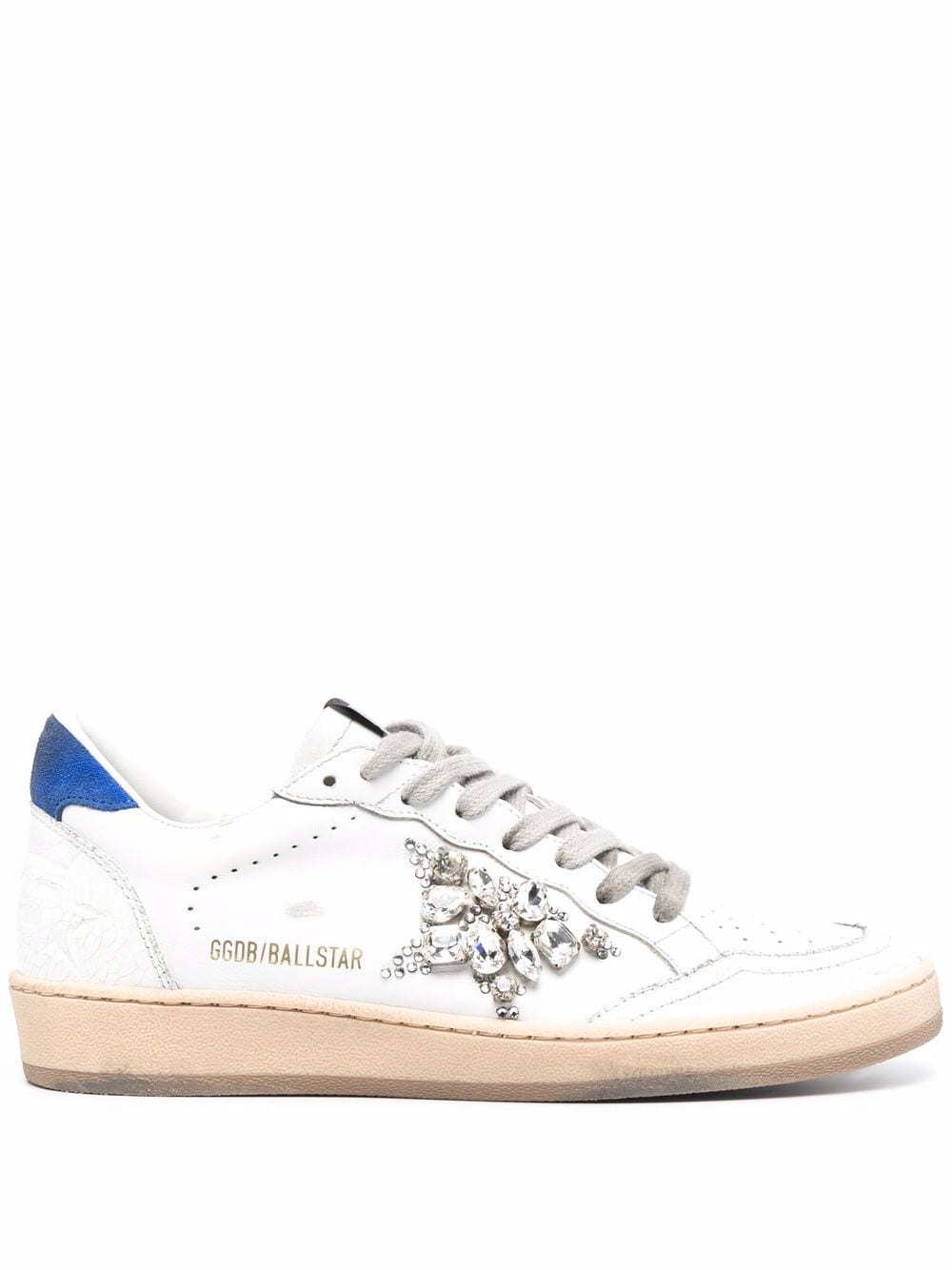Picture of Golden Goose Deluxe Brand   Embellished Ball Star Sneaker