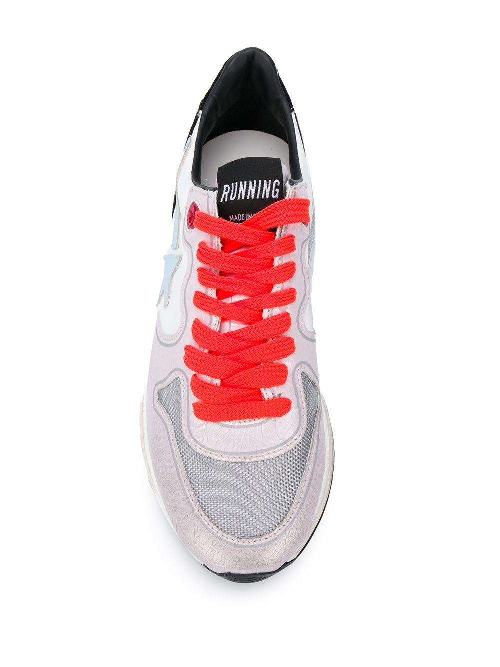 Picture of Golden Goose Deluxe Brand | Running Sole Low-Top Sneakers