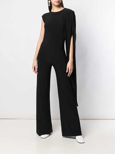 Picture of Norma Kamali | Draped Sleeveless Jumpsuit