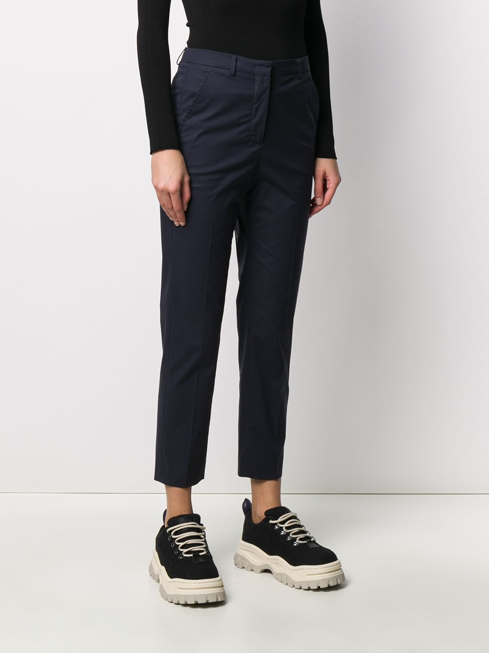 Picture of Incotex | Cropped Slim-Fit Trousers