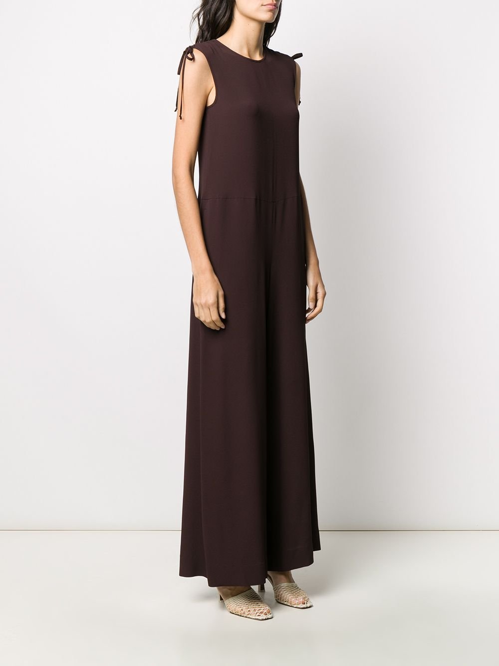 Picture of Incotex | Wide-Leg Sleeveless Jumpsuit