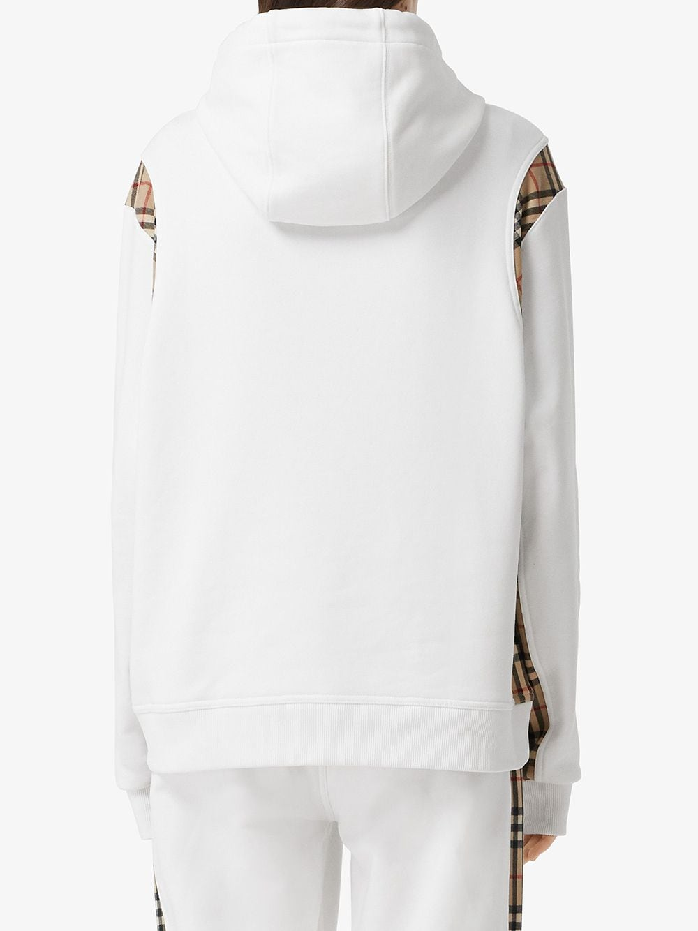Picture of Burberry | Vintage Check Panel Oversized Hoodie