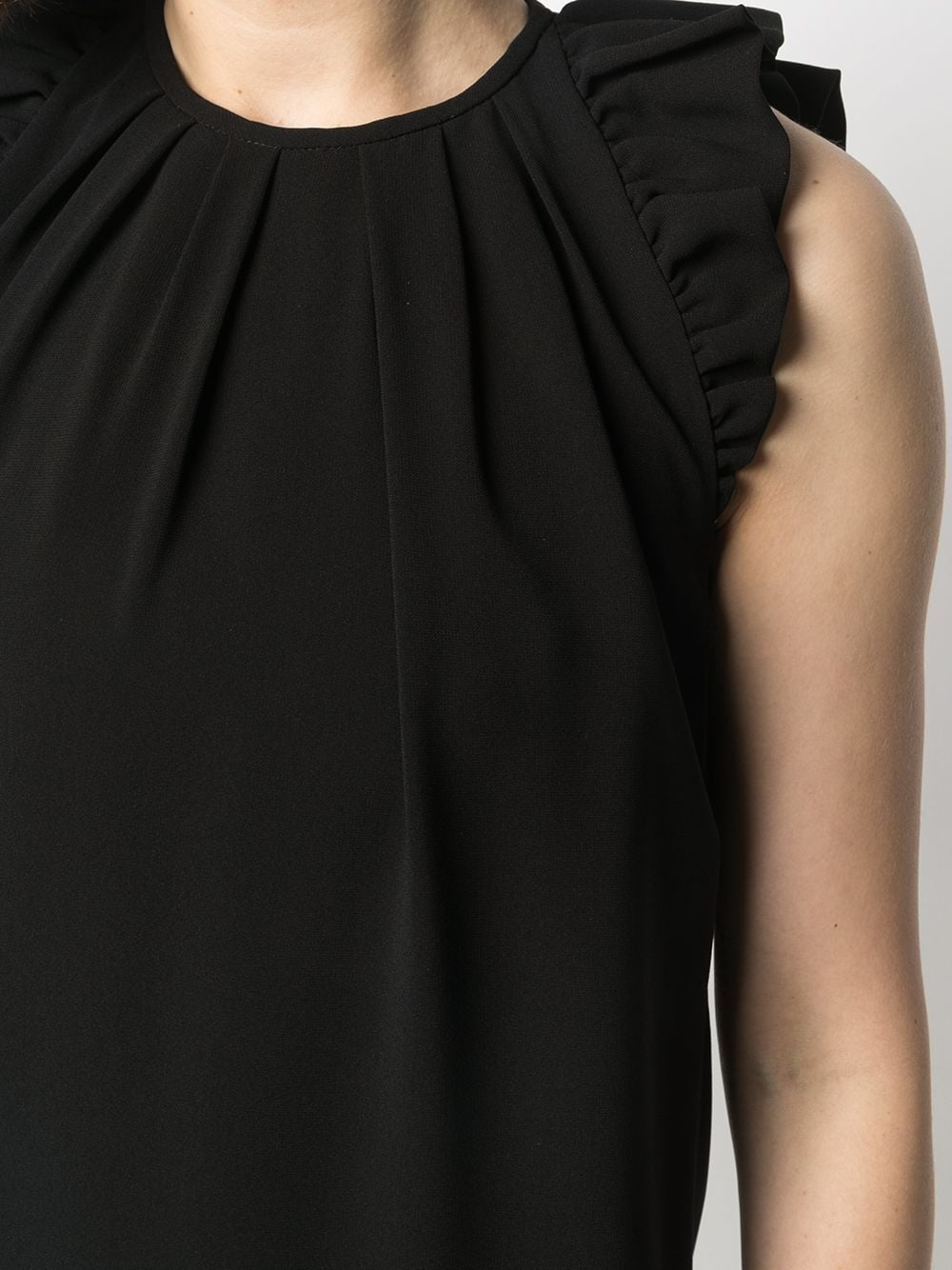 Picture of Aspesi   Ruffle-Trimmed Shift Dress