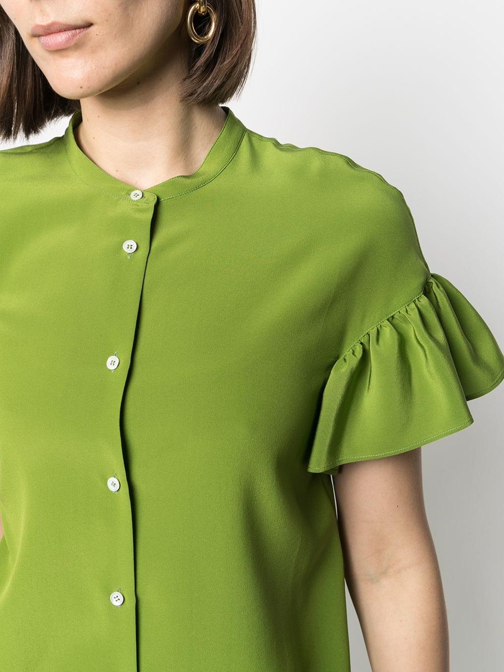 Picture of Aspesi | Flutter-Sleeve Blouse