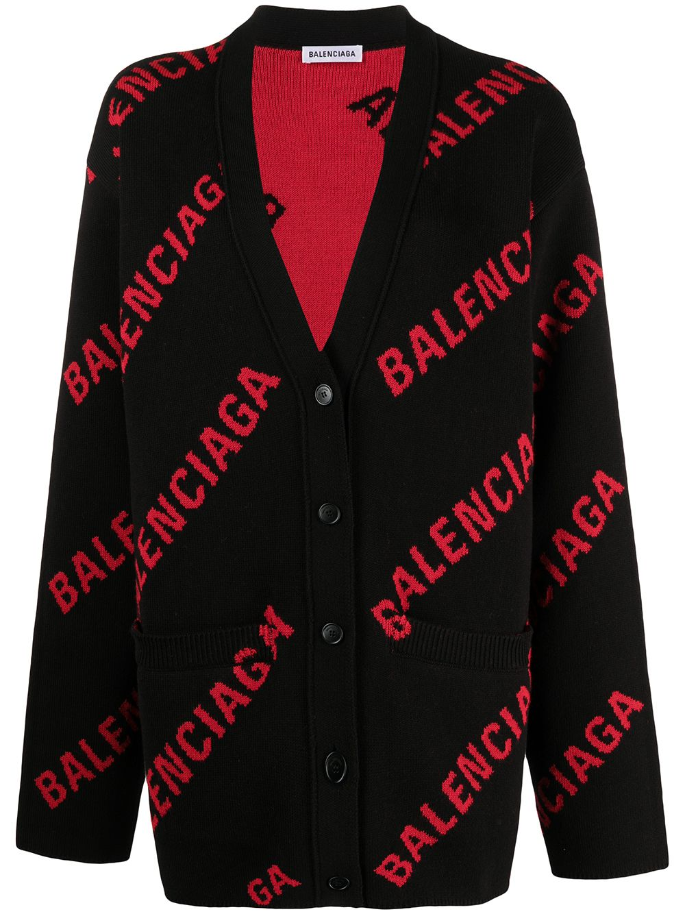 Picture of Balenciaga | Logo Cardigan