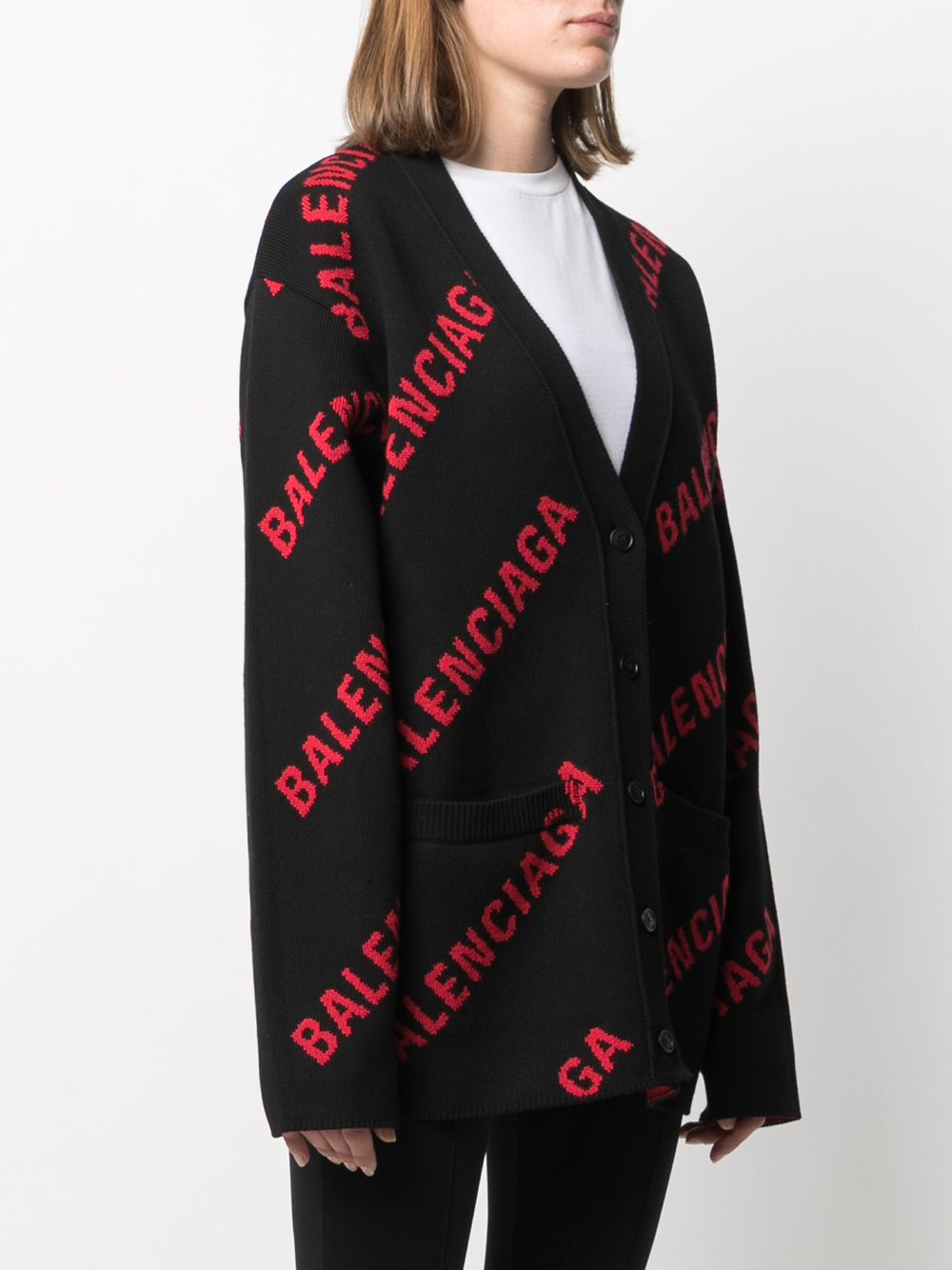 Picture of Balenciaga | Logo Cardigan