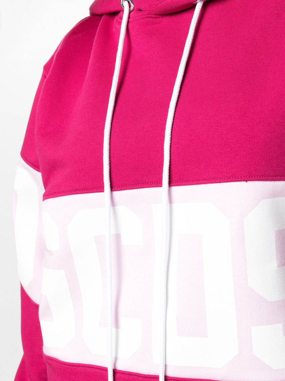 Picture of Gcds | Logo-Print Cotton Hoodie