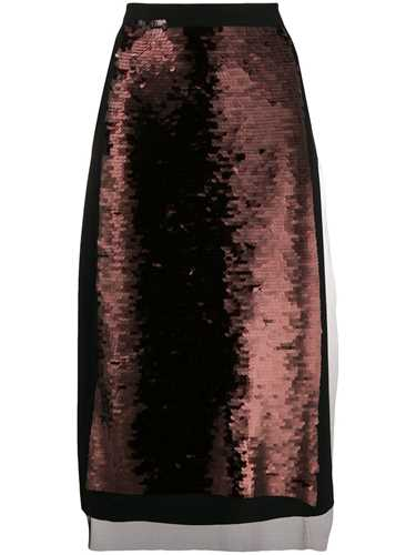 Picture of Mcq | Sequin Panel Skirt
