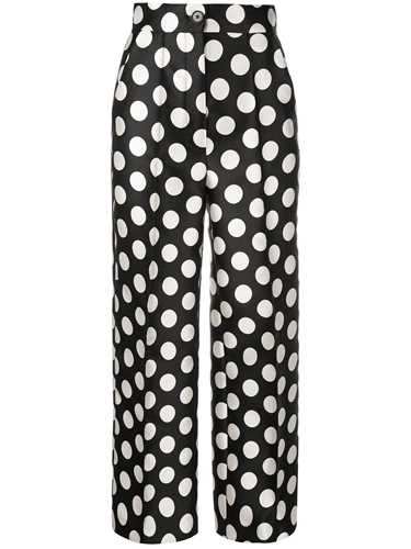 Picture of Dice Kayek | High-Waisted Polka Dot Trousers