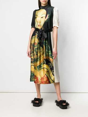 Picture of Simone Rocha | Face Print Dress