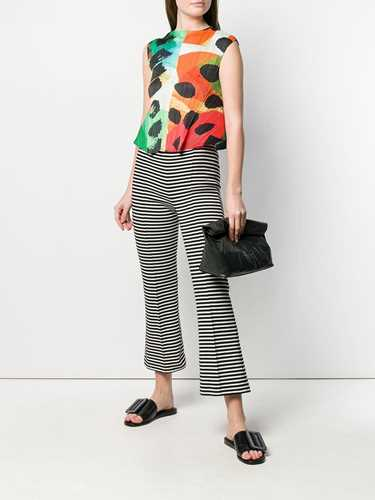 Picture of Issey Miyake Pleats Please | Colour-Block Sleeveless Top