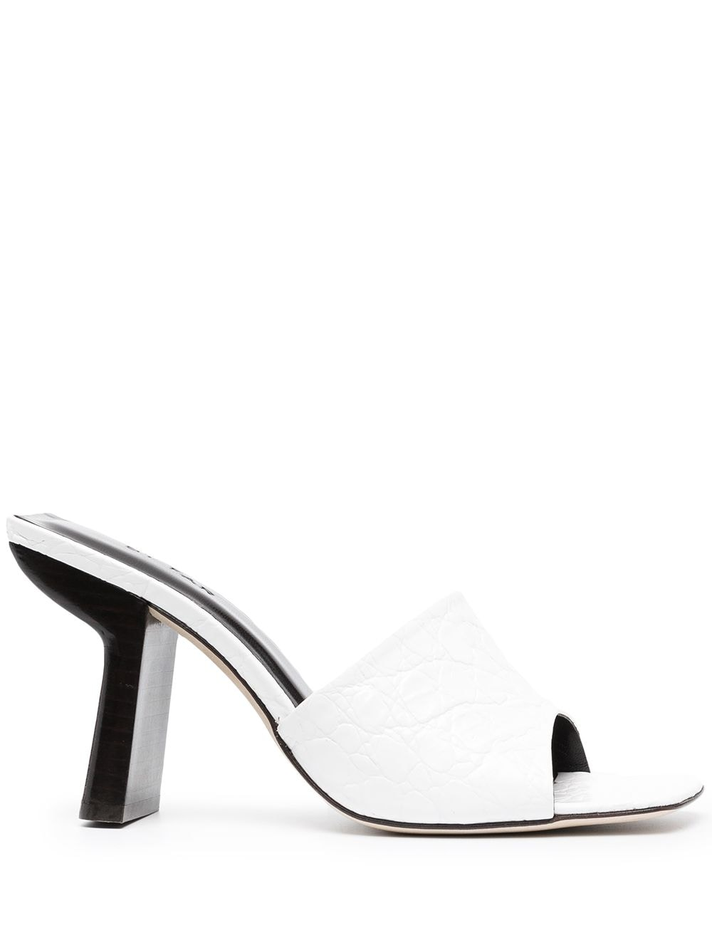 Picture of By Far   Two-Tone Mules
