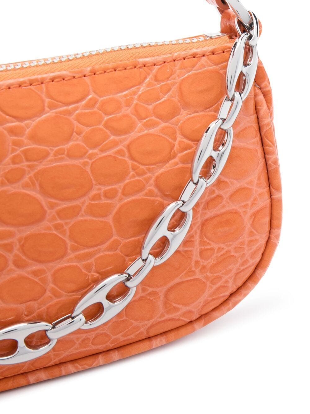 Picture of By Far | Crocodile-Embossed Mini Bag