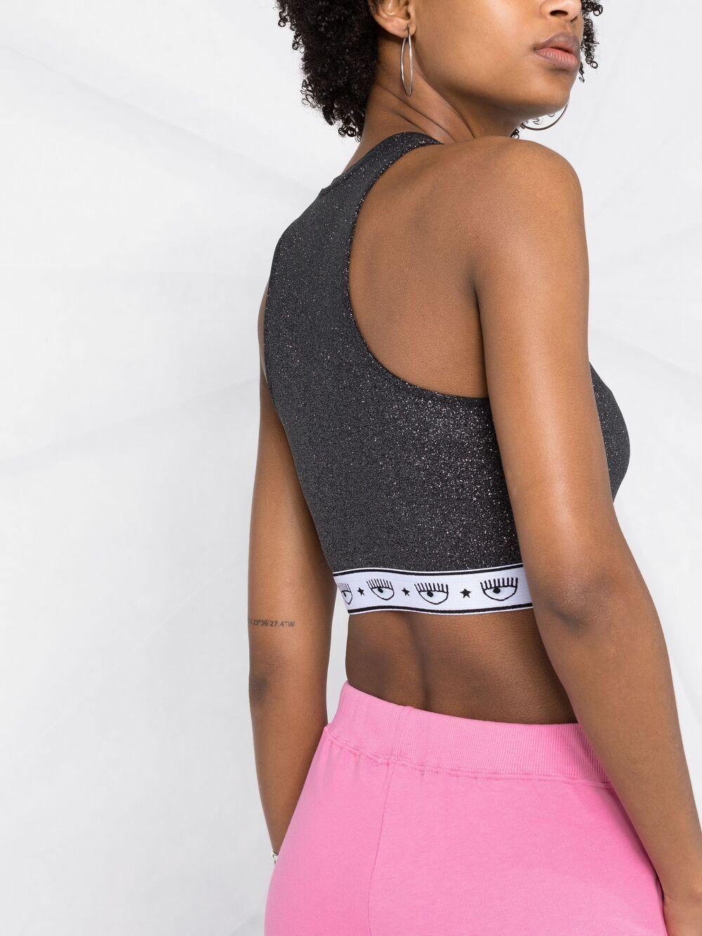 Picture of Chiara Ferragni | Logo-Band Glitter Vest