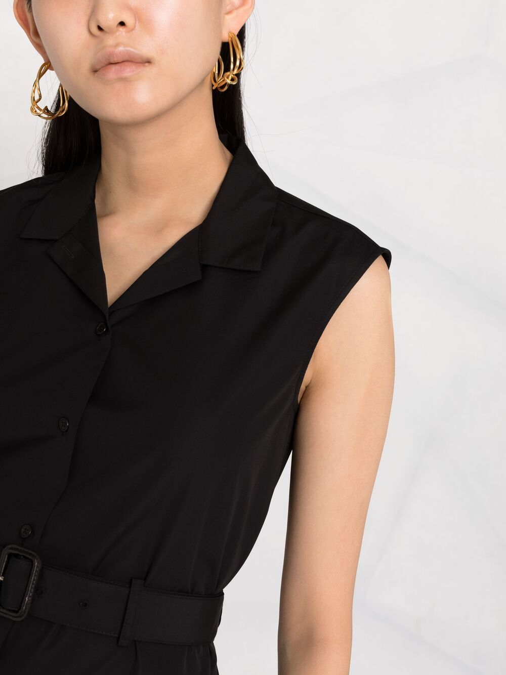 Picture of Aspesi | Belted Shirt Dress