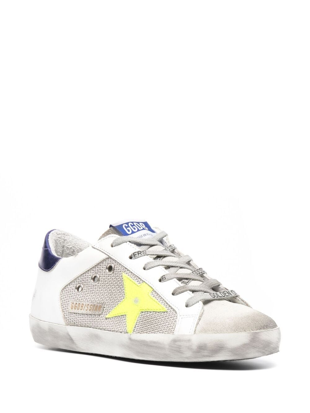 Picture of Golden Goose Deluxe Brand | Super-Star Logo Lace Sneakers