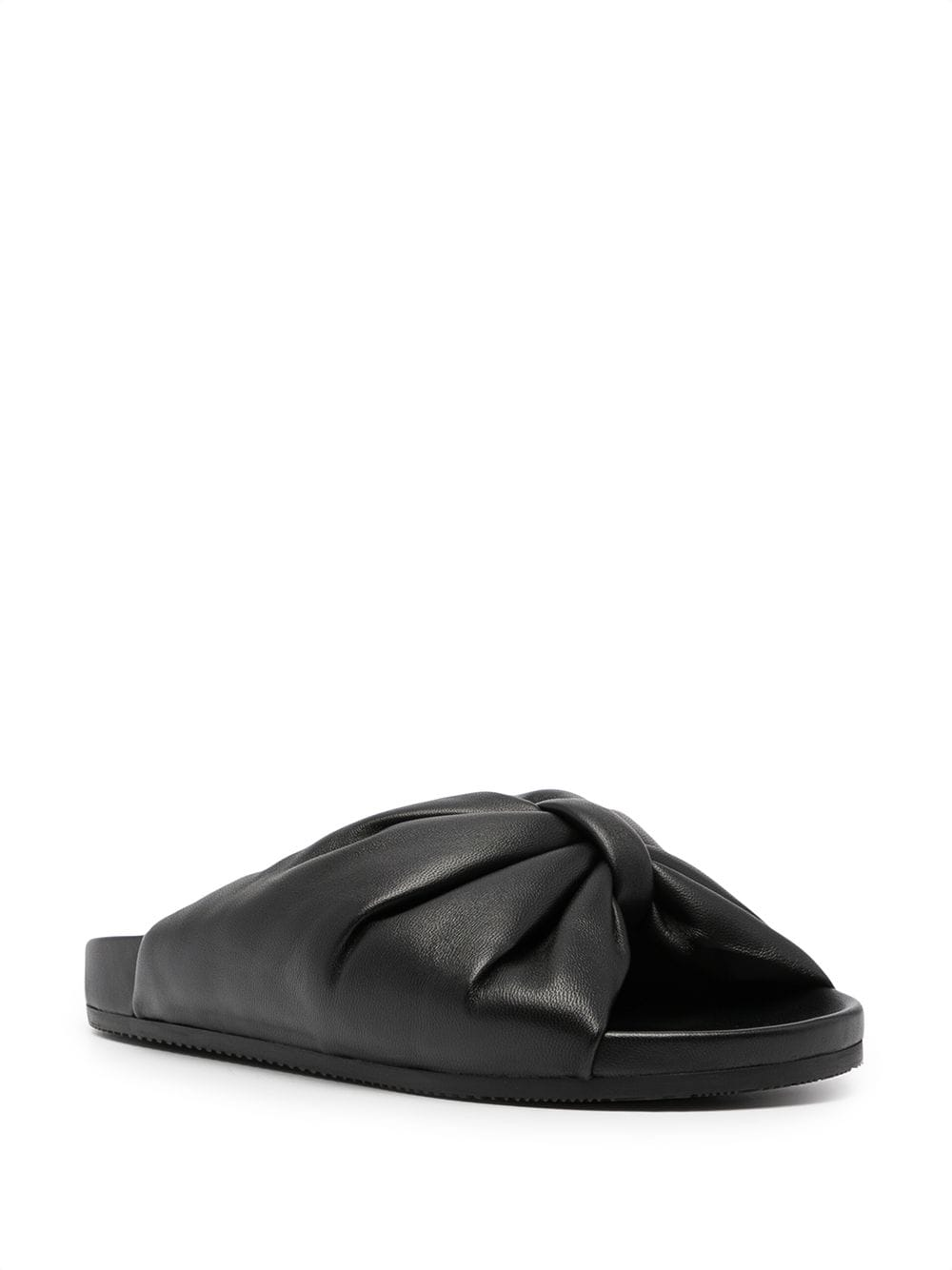 Picture of Balenciaga   Puffy Leather Slides