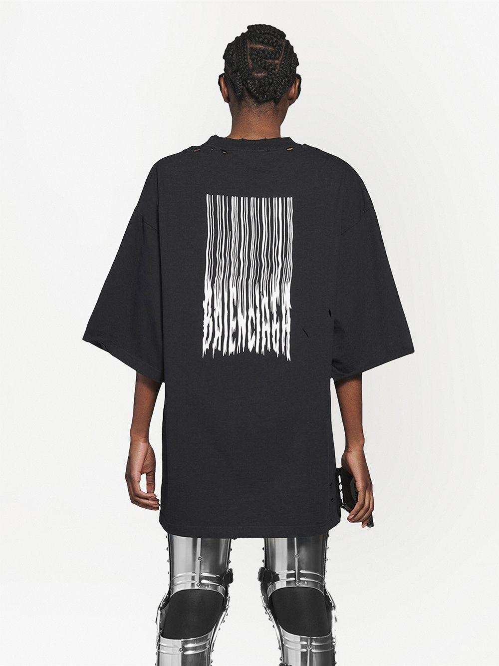 Picture of Balenciaga | Logo-Print Short-Sleeve T-Shirt