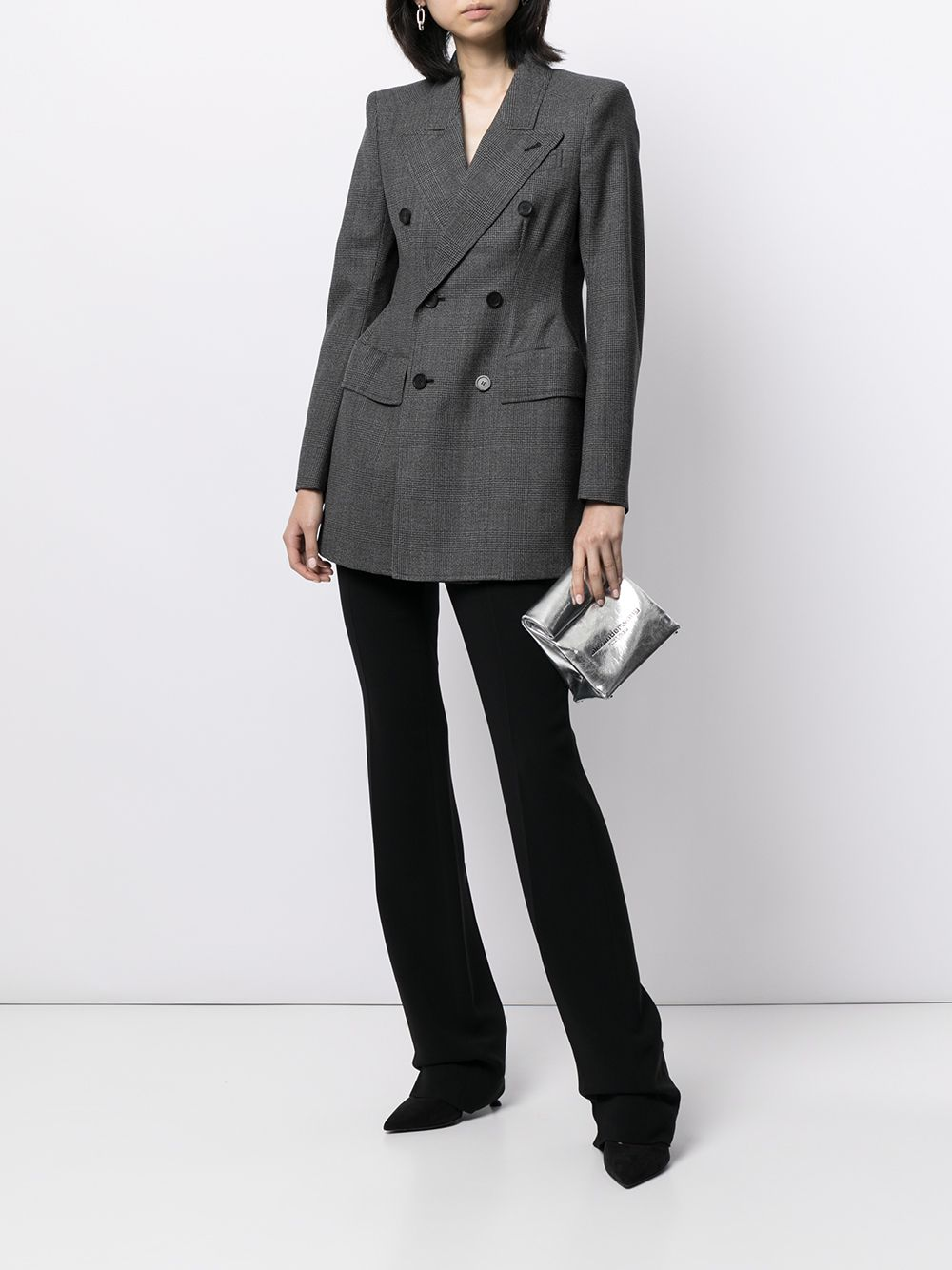 Picture of Balenciaga   Hourglass Double-Breasted Blazer
