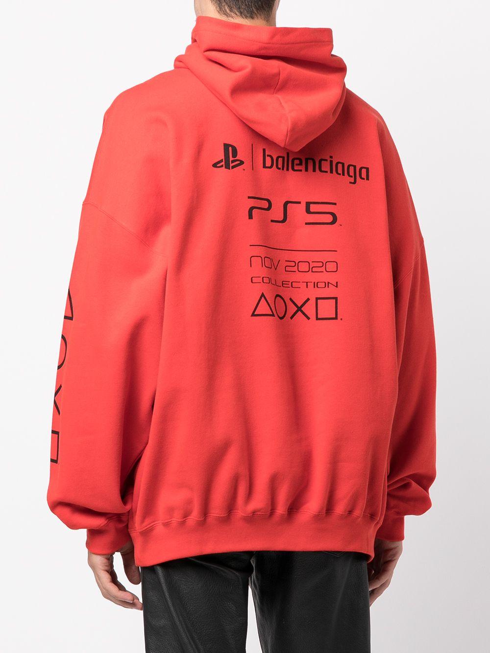 Picture of Balenciaga   Boxy Ps5 Sweatshirt