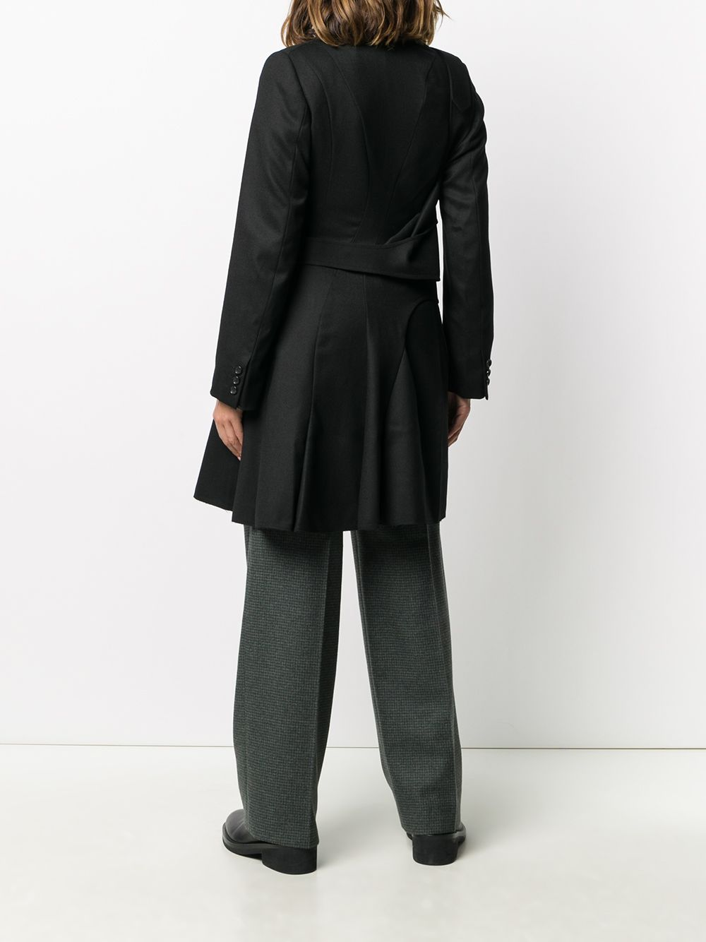 Picture of Junya Watanabe | Buckled Strap Mid-Length Coat